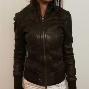 Mackage x Aritzia Leather Jacket